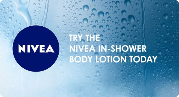 Nivea Canada Canadian Freebies Free in shower body lotion sample - Glossense