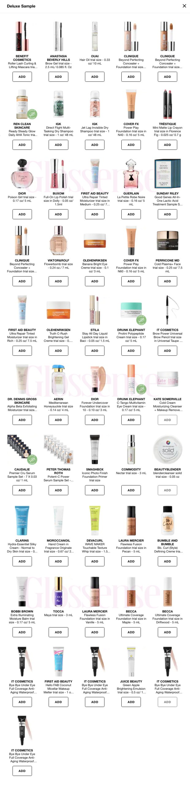 Sephora Canada Promo Codes Canadian Coupon Code MYGIFT Freebies Sephora Offers July 2018 - Glossense