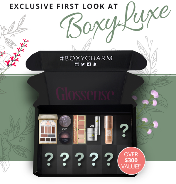 BoxyCharm Canada Canadian BoxyLuxe Subscription Box Full Spoilers September 2018 2 - Glossense