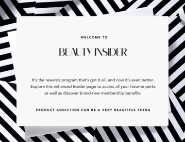 Sephora Canada Beauty Insider Rewards Program Updated Makeover August 2018 - Glossense