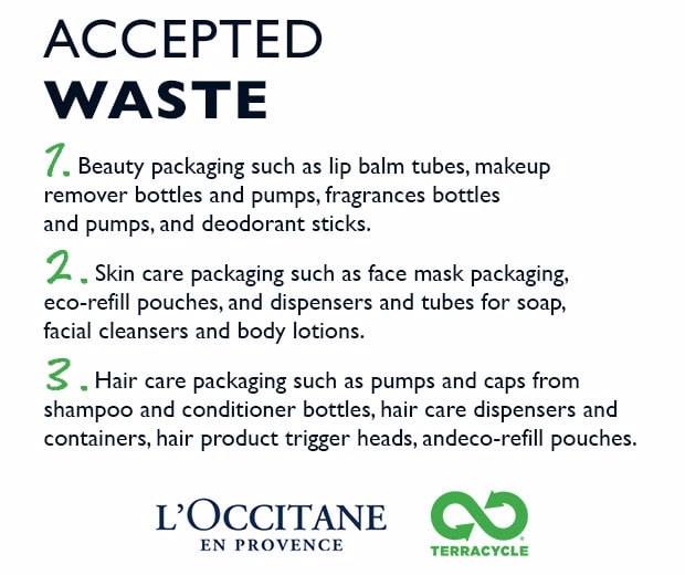 L'Occitane Canada Accepted Waste for Discount - Glossense