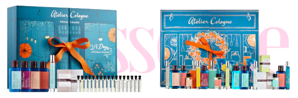 Sephora Canada Atelier Cologne 2018 Discovery & Luxury Canadian Holiday Advent Calendars Christmas 2019 - Glossense