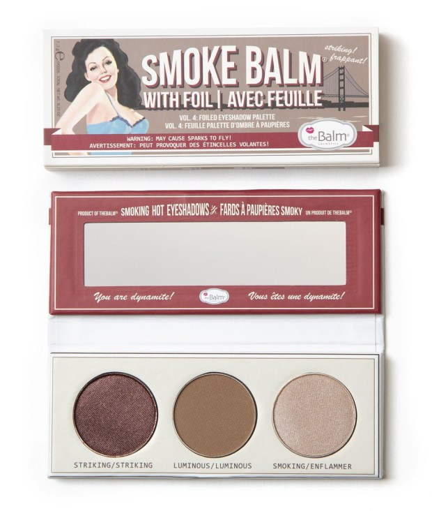 The Balm Cosmetics TheBalm Canada Free Gift w Purchase SmokeBalm Eyeshadow Palette - Glossense