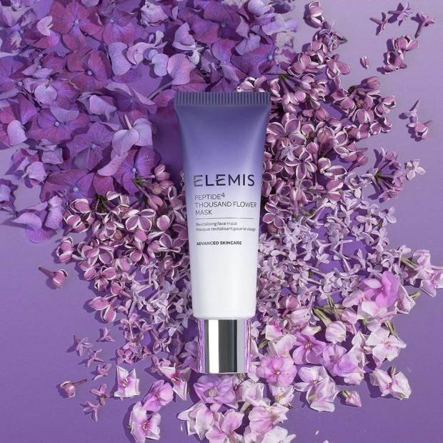 Canadian Facebook Freebies Free Elemis Peptide4 Thousand Flower Face Mask Travel-Size Deluxe Sample - Glossense