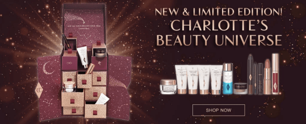 Charlotte Tilbury Canada Beauty Universe Makeup and Skincare Set 2018 2019 Canadian Christmas Holiday Advent Calendar Surprises - Glossense