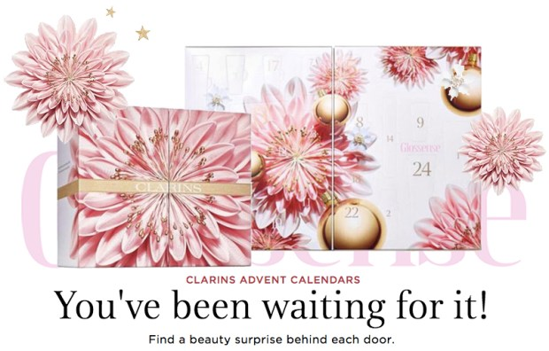 Clarins Canada Canadian 2018 Beauty Skincare Skin Care Advent Calendar 2019 Holiday Christmas 12 Day 24 Day - Glossense