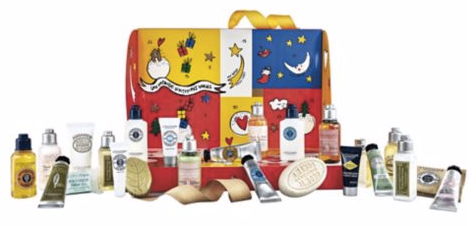 Hudson's Bay The Bay L'Occitane x Castelbajac 2018 Advent Calendar 24-Piece Holiday Gift Set Contents - Glossense