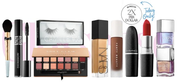 Sephora Canada Beauty Insider Canadian Rewards Program Earn Double Points Redeem Prizes Makeup Cosmetic Brushes Lashes Nail Polish Nail Care Products October 2018 - Glossense
