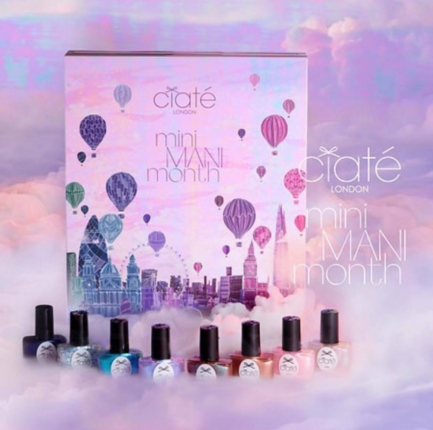 Sephora Canada Ciate London Mini Mani Month Nail Set Canadian 2018 Holiday Advent Calendar - Glossense