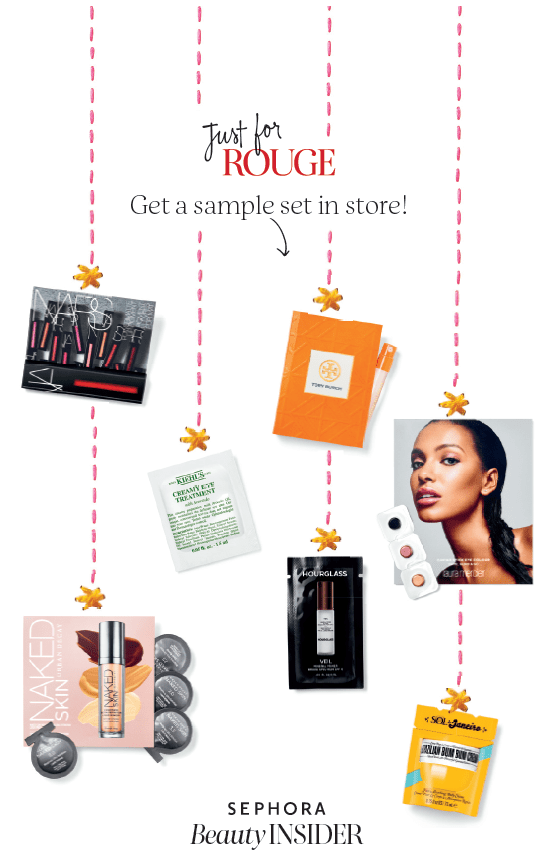 Sephora Canada Rouge Event Holiday Bonus Canadian Freebies Free Sample Set Gift Bag October November 2018 2019