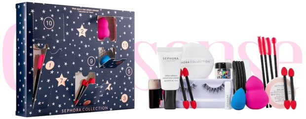 Sephora Canada Sephora Collection Wish Upon a Star 2018 2019 Holiday Christmas Beauty Advent Calendar Unboxing - Glossense
