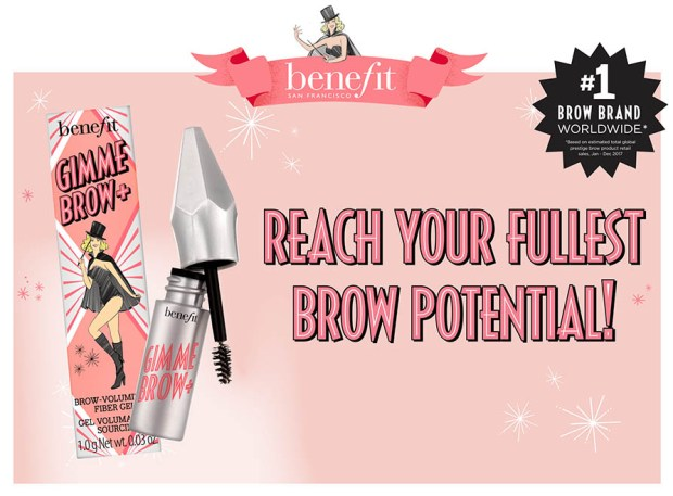 Topbox Benefit Cosmetics Canada Instagram Canadian Freebie Freebies Free Gimme Brow Deluxe Sample - Glossense