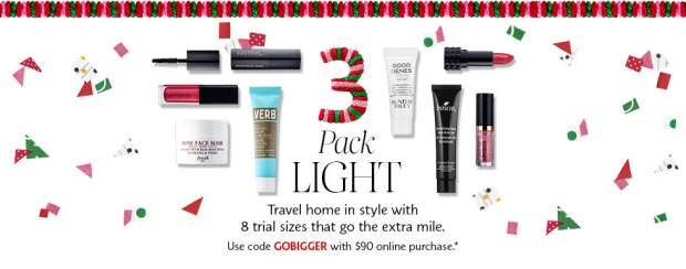 Sephora Canada Canadian Promo Coupon Code 2018 Choose Your Free Holiday Christmas Gift Goody Goodie Bag with Purchase GWP Canadian Freebies 3 - Glossense
