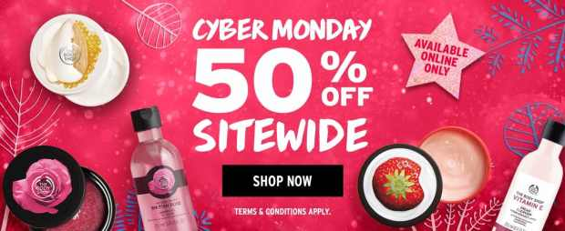 The Body Shop Canada 2018 Cyber Monday Canadian Sale Deals Offer Promo Gift Sets 2018 2019 - Glossense