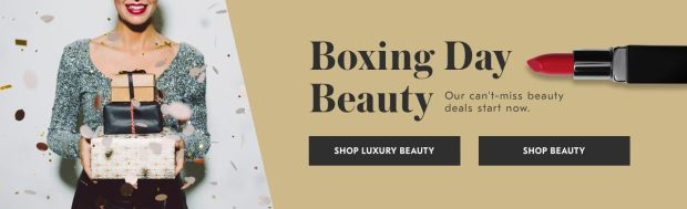 Beauty by Shoppers Drug Mart Canada SDM Beauty Boutique 2018 Canadian Boxing Day Deals Beauty Deals Sale Promos - Glossense
