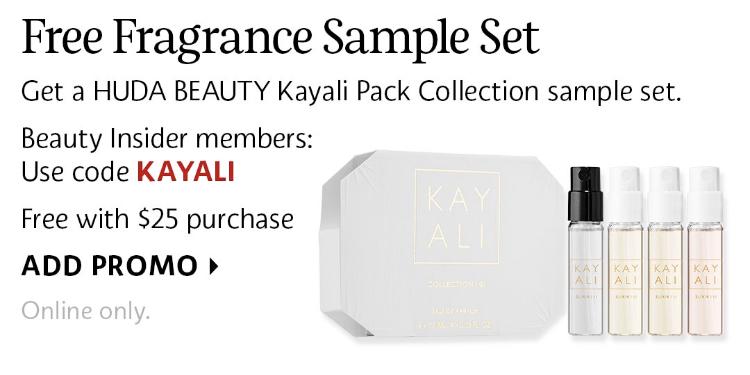 CodeFree Sephora Canada Beauty Kayali Promo Pack Fragrance Huda 34ALRqSjc5