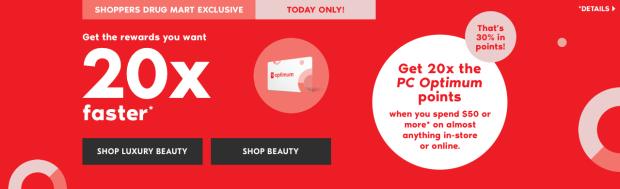 Shoppers Drug Mart Beauty Boutique SDM Canada Canadian Multiple PC Optimum Points Event January 12 2019 - Glossense