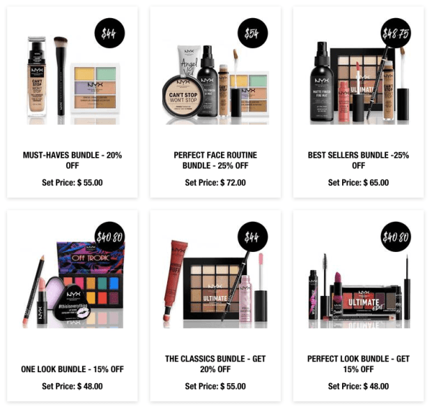 Nyx Cosmetics Canada 2019 Canadian Lunar New Year Sale Bundles Chinese New Year - Glossense