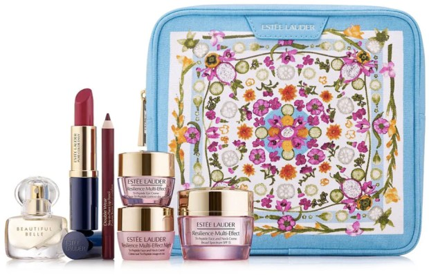 Hudson's Bay Beauty The Bay HBC Canadian GWP Gift with Purchase Offer Free Estee Lauder March 2019 Amba Living Beauty Gift Bag Travel Set Bag Deluxe Sample Canadian Freebies GWP Offer - Glossense