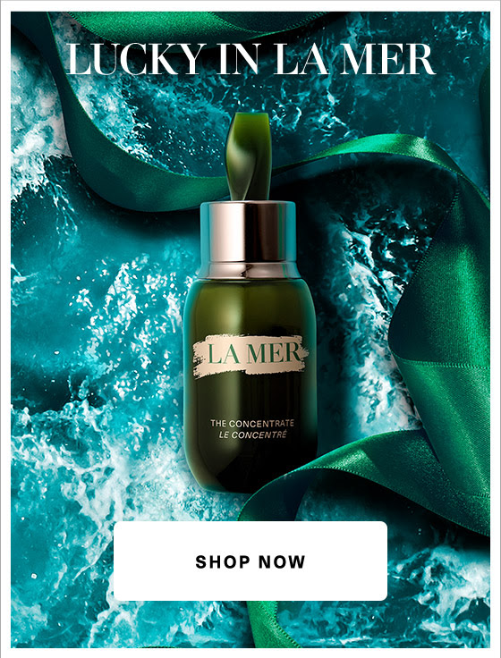La Mer Canada Free Deluxe Mini Sample of The Concentrate 85 Value with Any Purchase St. Patrick's Day March 2019 Canadian GWP Promo Code Coupon Offer - Glossense