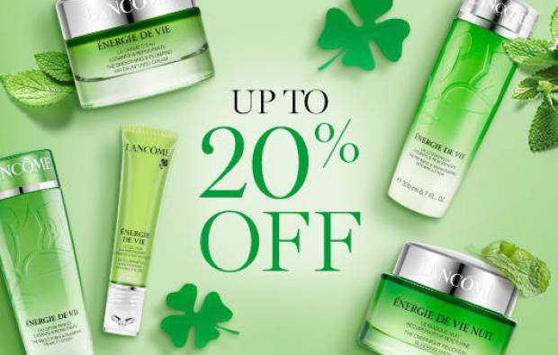 Lancome Canada St. Patrick's Day March 2019 Canadian Sale Deals Deal Promotion Beauty Offer Discount - Glossense