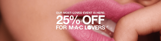 MAC Cosmetics Canada Most Loved Event Canadian Deals Canadian Sale 25 Percent Off For MAC Lovers Spring 2019 - Glossense