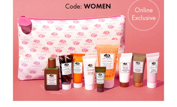 Origins Skincare Canada International Women's Day March 8 2019 Canadian Deals Promo Code Coupon Codes Offer Free GWP Gift Set with Purchase 2 - Glossense