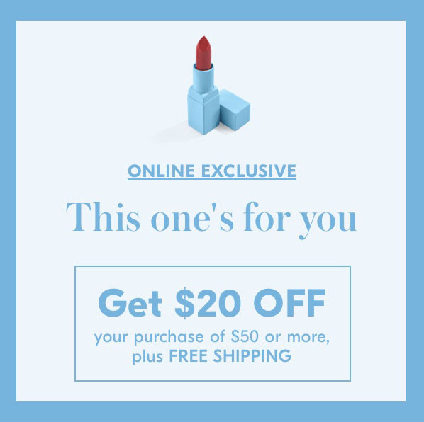 Shoppers Drug Mart Canada SDM Beauty Boutique Canadian Deals Exclusive 20 Off 50 VIP BFF or Beginner's Luck E-mail Offer Canadian Coupons - Glossense