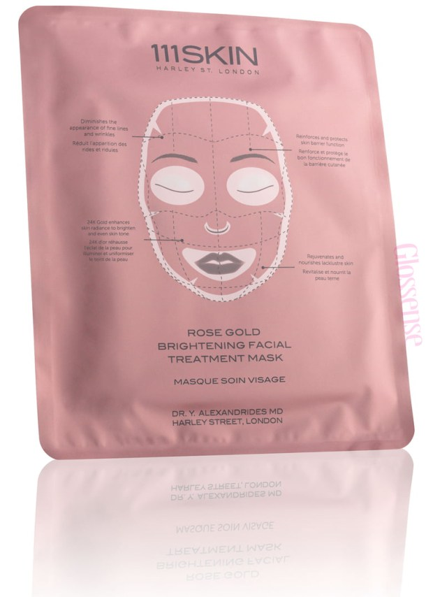 111Skin Canada Canadian Freebies Hot Deal Free Rose Gold Brightening Facial Treatment Mask Face Mask 24K Gold Beauty Offer Beauty Deals - Glossense
