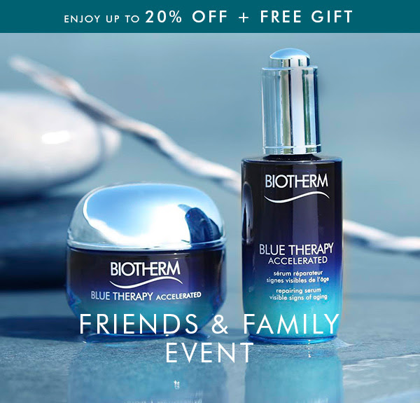 Biotherm Canada Friends and Family Sale Event GWP Beauty Offer Canadian Deals 2019 Free Shipping - Glossense