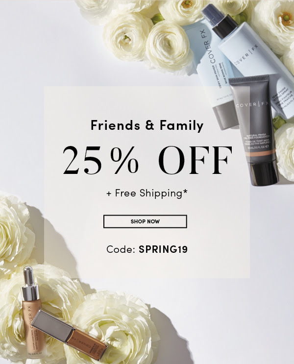 Cover FX Canada Canadian Friends and Family Event Spring 2019 Promo Code Sale Deals GWP Free Powder Brush - Glossense