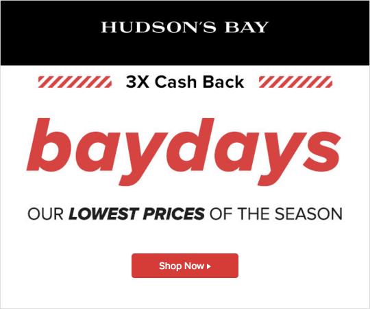 HUDSON'S BAY CANADA: Shop Bays Days Beauty Online & Get 3x
