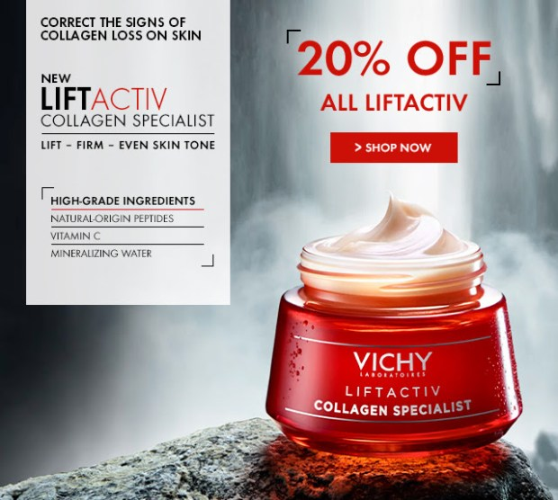 Shoppers Drug Mart SDM Canada Beauty Boutique Canadian Deal Deals Sale on Vichy Canada Products Liftactiv and More PC Optimum Points - Glossense