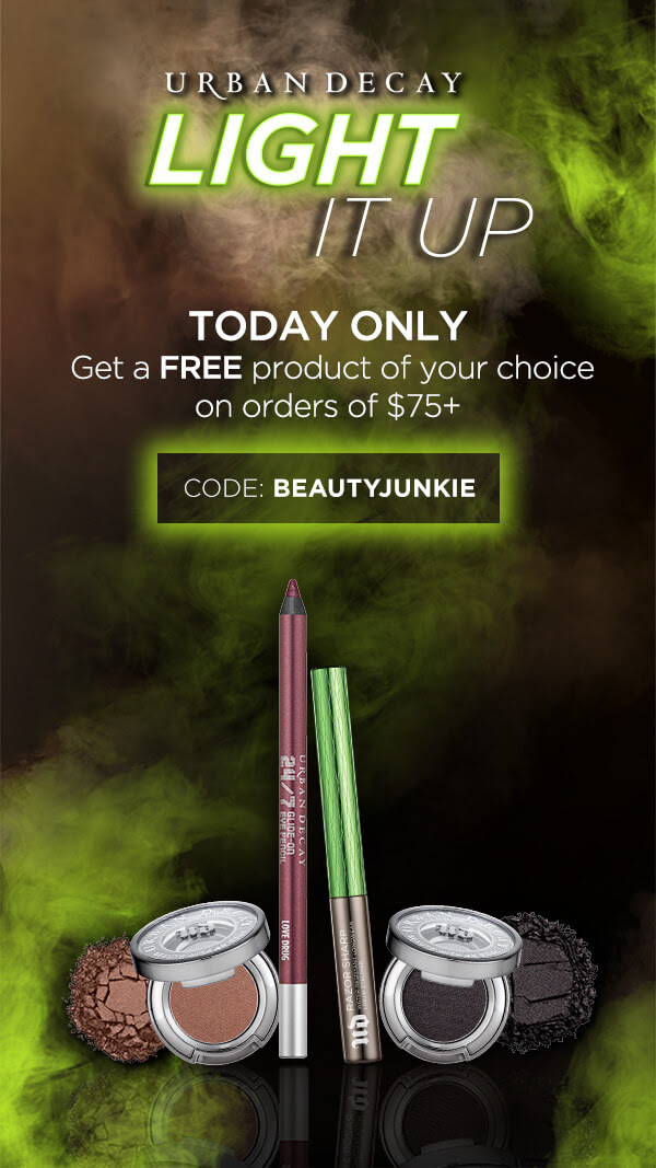 Urban Decay Canada Canadian 420 UD Deal GWP Beauty Gift with Purchase April 20 2019 BEAUTYJUNKIE - Glossense