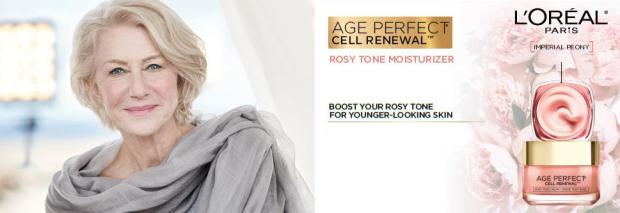Canadian Freebies Free L'Oreal Canada Age Perfect Cell Renewal Rosy Tone Day Cream Moisturizer Sample - Glossense