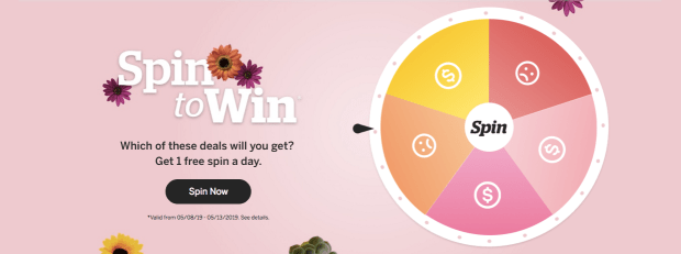 EBATES CANADA: Spin to Win FREE Canadian Prizes