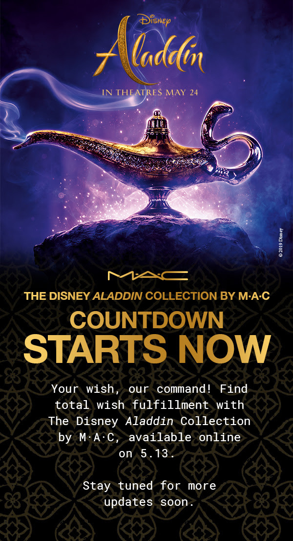 MAC Cosmetics Canada Canadian New Arrival The Disney Aladdin Collection by MAC Launches May 13 2019 - Glossense