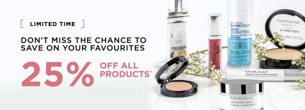 Marcelle Cosmetics Canada Canadian Long Weekend Victoria Day Sale May 2019 - Glossense