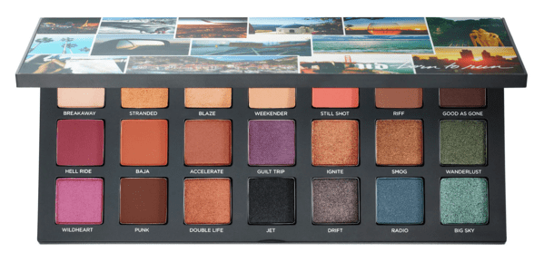 Sephora Canada Hot Summer 2019 Canadian Sale Save 39 Percent on UD Urban Decay Born to Run Eyeshadow Palette May 2019 - Glossense