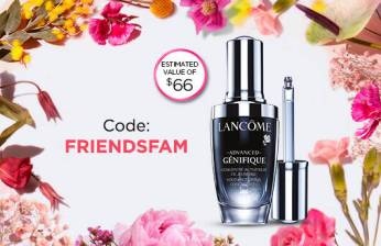 Lancome Canada Canadian Friends and Family 2019 Sale Event Canadian Beauty Deals Makeup Skincare GWP promo code coupon codes - Glossense