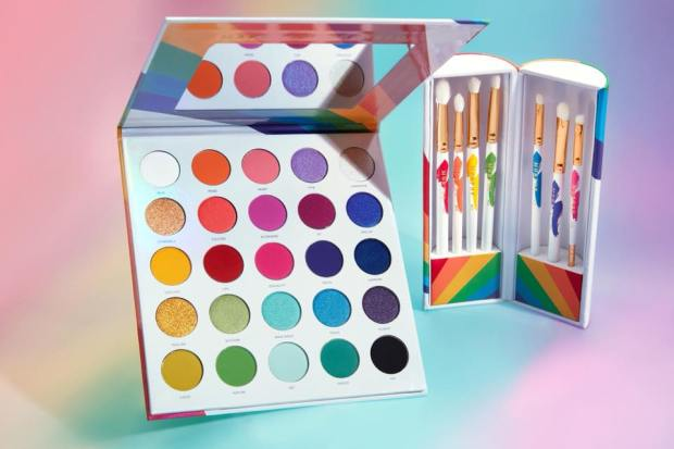 Morphe Canada New PRIDE Live in Color Collection Launches June 5 2019 Makeup Palette Brushes - Glossense