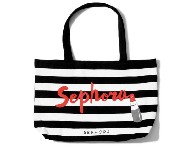 Sephora Canada New Sephora Lipstick Tote Bag 250pt Reward June 2019 Canadian Beauty Insider Rewards Bazaar - Glossense