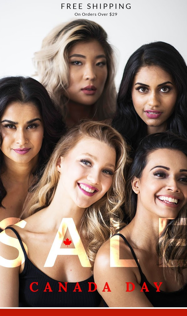 Vasanti Cosmetics Canada Day July 1 2019 50 Percent Off BOGO Sale on Locked In Liquid Lipsticks 2019 Canadian Deals - Glossense