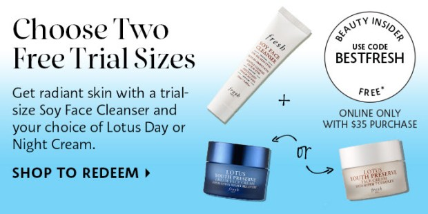 Sephora Canada Canadian Beauty Offers Promo Code Coupon Codes Free Fresh Skincare Duo Mini Deluxe Samples - Glossense