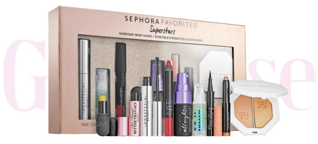 Sephora Canada Favorites Set Kit Canadian Favourites Favorite Favourites Superstars Makeup Essentials Collection Kit Set Beauty September Fall 2019 - Glossense