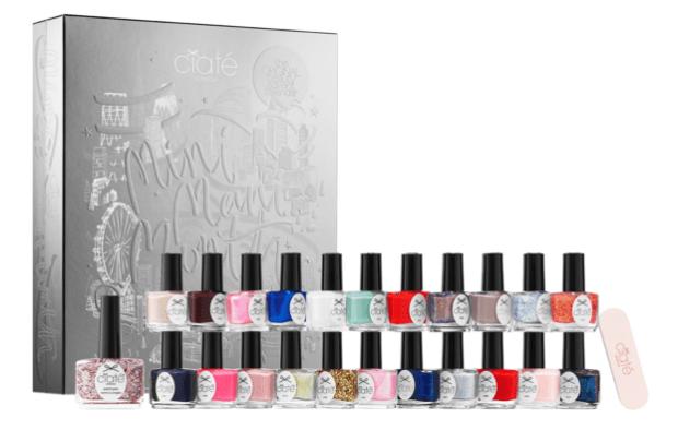 Sephora Canada 2019 2020 Holiday Advent Calendar Canadian Calendars Christmas Ciate London Mini Mani Month Nail Polish Beauty Unboxing - Glossense