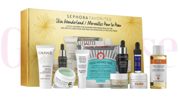 Sephora Canada Favorites Set Kit Canadian Favourites Favorite Favourites Skin Wonderland Skincare Collection Kit Set Beauty October 2019 - Glossense