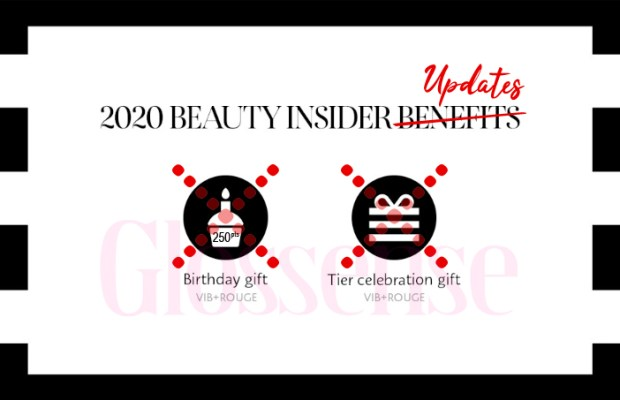 Sephora Canada January 1 2020 Canadian Beauty Insider Program New Benefits Changes Updates Free Rewards BI VIB Rouge Members Tier Gifts Updated - Glossense