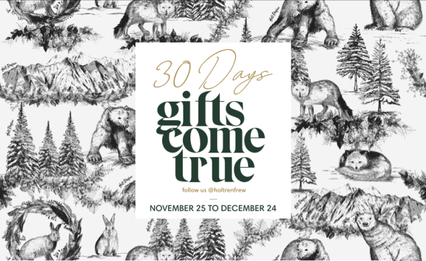 Holt Renfrew Canada 30 Days of Gifts Come True 2019 Canadian Contest Giveaway - Glossense
