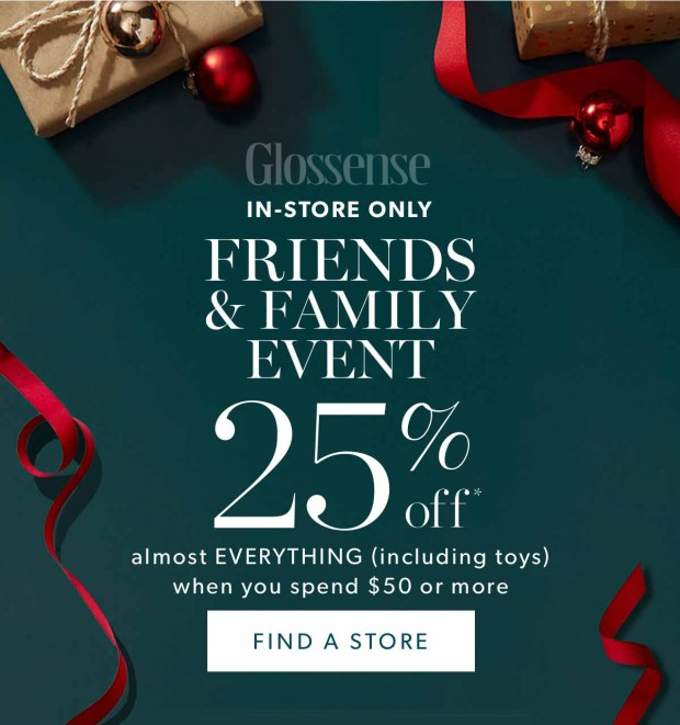 Indigo Chapters Canada Friends Family Sale Event Save 25 Percent Off Beauty More 2019 Canadian Deals - Glossense